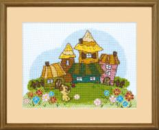 BT-004 Counted cross stitch kit Crystal Art Spring walk. Catalog. Kits