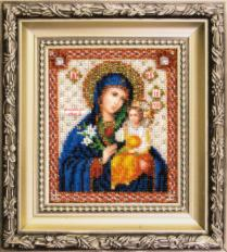 "JB-012 The Icon of The Mother of God ""The Unfading Blossom"" . Catalog. Kits"