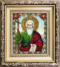 JB-015 The Icon of St. Andrew, the First-called Apostle . Catalog. Kits