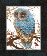 BT-094 Counted cross stitch kit Crystal Art Silence of the forest. Catalog. Kits