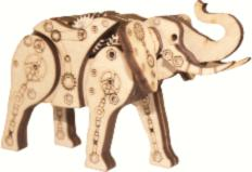 F-067 Designer kit Mechanical elephant. Catalog. Kits